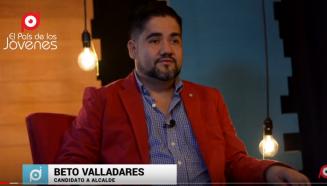 Beto Valladares candidato a alcalde