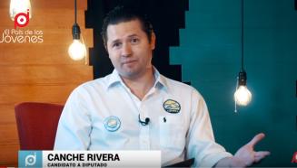 Canche Rivera candidato a diputado