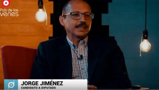 Jorge Jiménez candidato a diputado