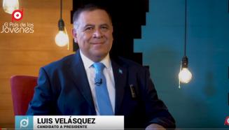 Luis Velásquez candidato a presidente