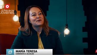 Maria Teresa candidata a alcalde