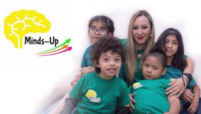 Minds-Up, una fundación que lucha por la inclusión de niños con discapacidad