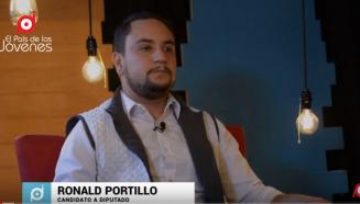 Ronald Portillo candidato a diputado