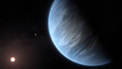 Encuentran agua por primera vez en otro planeta