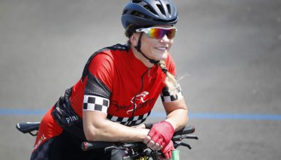 La persona más rápida del mundo en bicicleta
