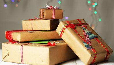 Envolturas ecológicas para Navidad