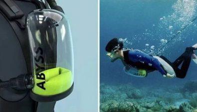 """Con """"Exolung"""" puedes respirar bajo el agua de manera ilimitada"""
