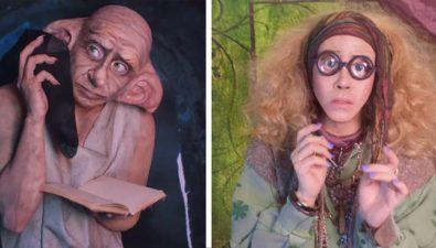 Joven puede transformarse en cualquier personaje de 'Harry Potter'