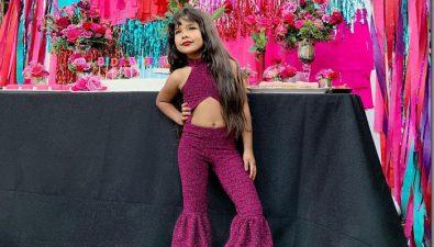 Niña celebra su cumpleaños con una fiesta de Selena Quintanilla