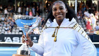 Serena Williams donó su premio a la lucha contra los incendios de Australia