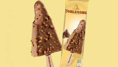Toblerone sacó a la venta un helado