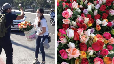 Floricultores guatemaltecos regalan 5 mil tallos de flores para animar a las personas durante la cuarentena