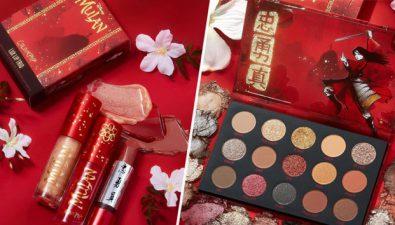 ColourPop y Disney lanzan maquillaje inspirado en Mulán