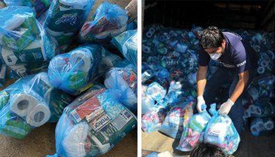 Rotary y United Way entregan kits de alimentación e higiene a 900 familias