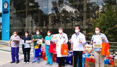 Sector de exportación muestra su apoyo al personal de salud con 'kits de cariño'