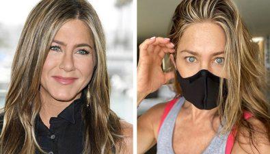 Jennifer Aniston manda importante mensaje sobre el uso de mascarilla