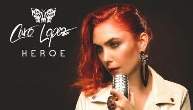 La actriz y cantante colombiana Caro López estrena su sencillo 'Héroe'