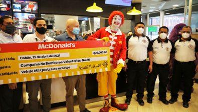 McDonald's inauguró su segundo restaurante en Cobán