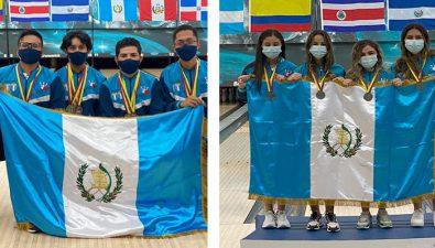 Selección juvenil de boliche de Guatemala ganó 7 medallas en el XIX Campeonato Panamericano Juvenil 2021