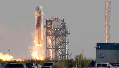 Video: Jeff Bezos, fundador de Amazon, viaja al espacio