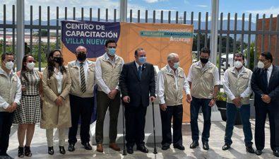 Intecap inauguró el Centro de Capacitación Villa Nueva