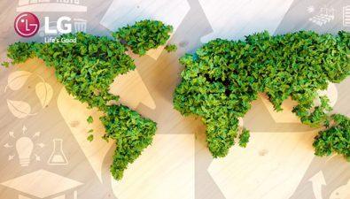 LG Electronics promete la transición a 100%  de energía renovable para 2050